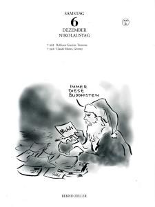 Bernd Zeller in Rabenkalender 6.12.2014 Zweitausendeins